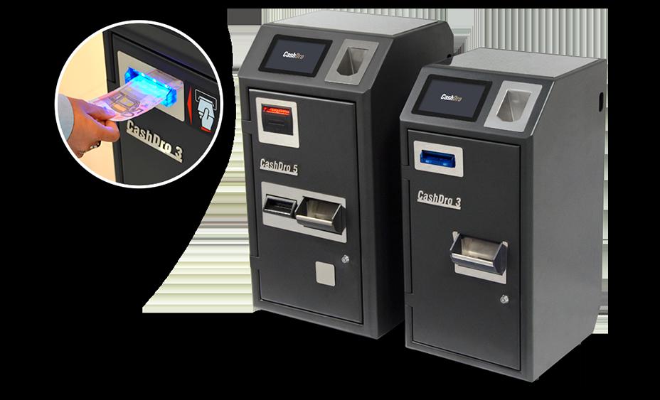 Dispositivos CashDro 3 y Cashdro 5 de gestión de efectivo