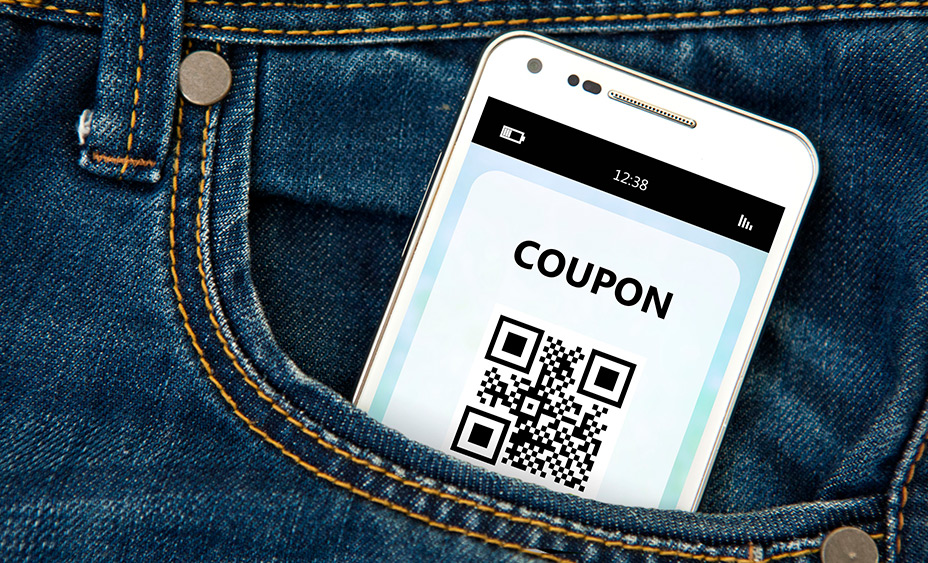 MOBILE HONE SHWING COUPON BASED CUSTOMER LOYALTY SYSTEM