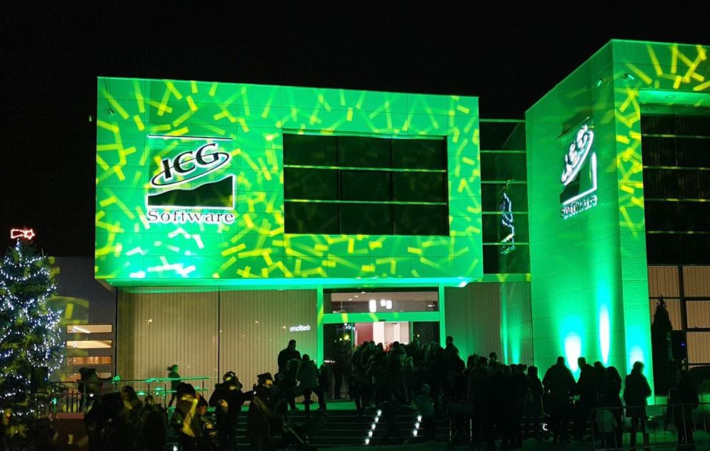 Las instalaciones de ICG Software acogieron la recogida de cartas de los Pajes Reales