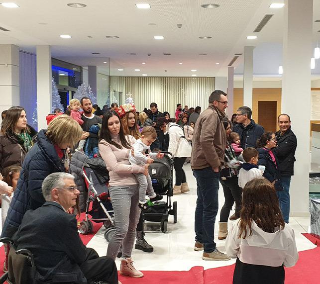 2000 personas se acercaron a las instalaciones de ICG para entregar la carta de los Reyes Magos